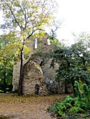 Budapest Margaret Island church ruins