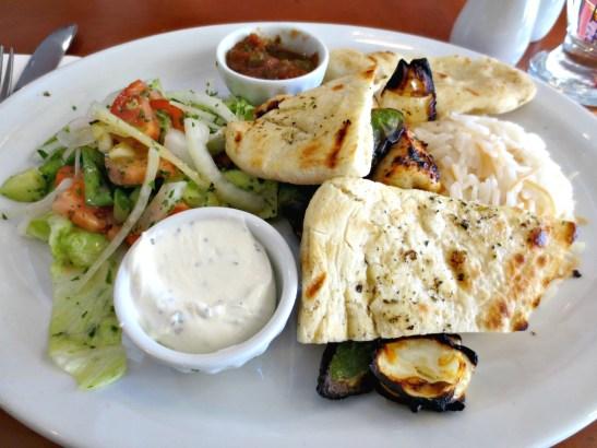 Halifax Efendy chicken kebab lunch special