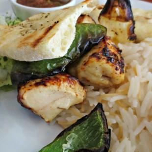 Halifax Efendy chicken kebab plate