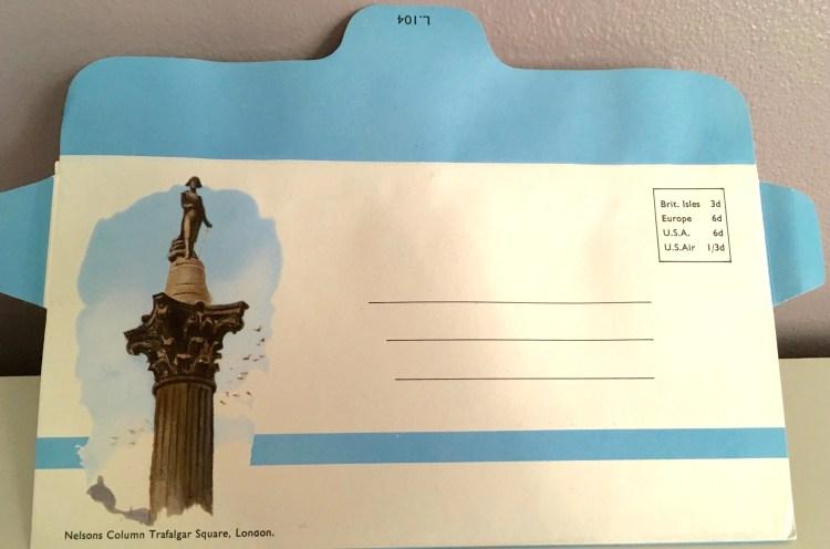 Envelope - Trafalgar Square