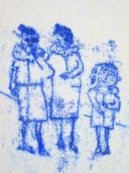 stokes croft monoprint - girls