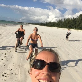 ZWS - cycling selfie