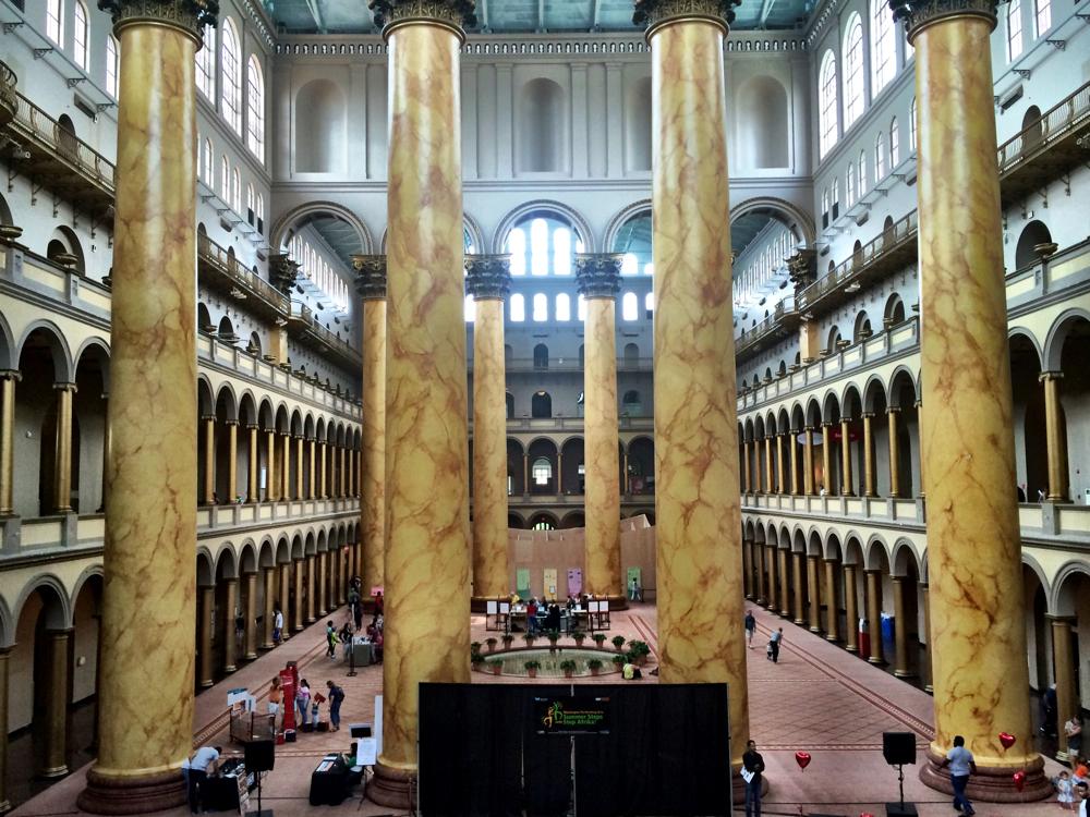 National Building Museum in Washington DC