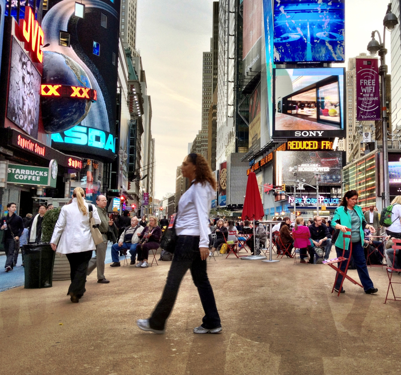 Times Square in New York City, New York