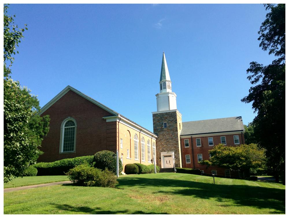 Kensington Baptist Church In Kensington, Maryland