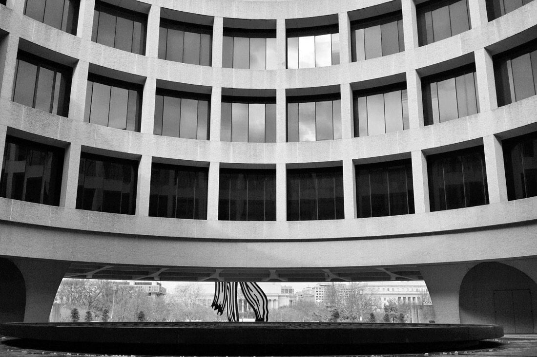 Hirshhorn Museum in Washington DC