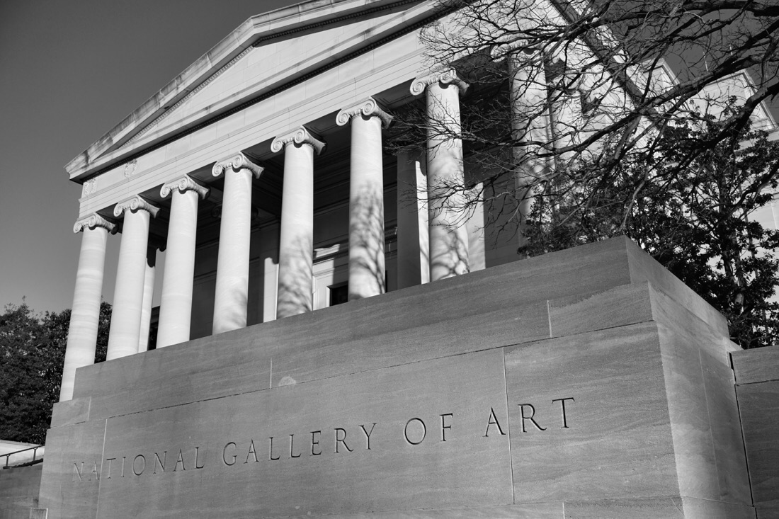 National Gallery of Art, West Building in Washington DC
