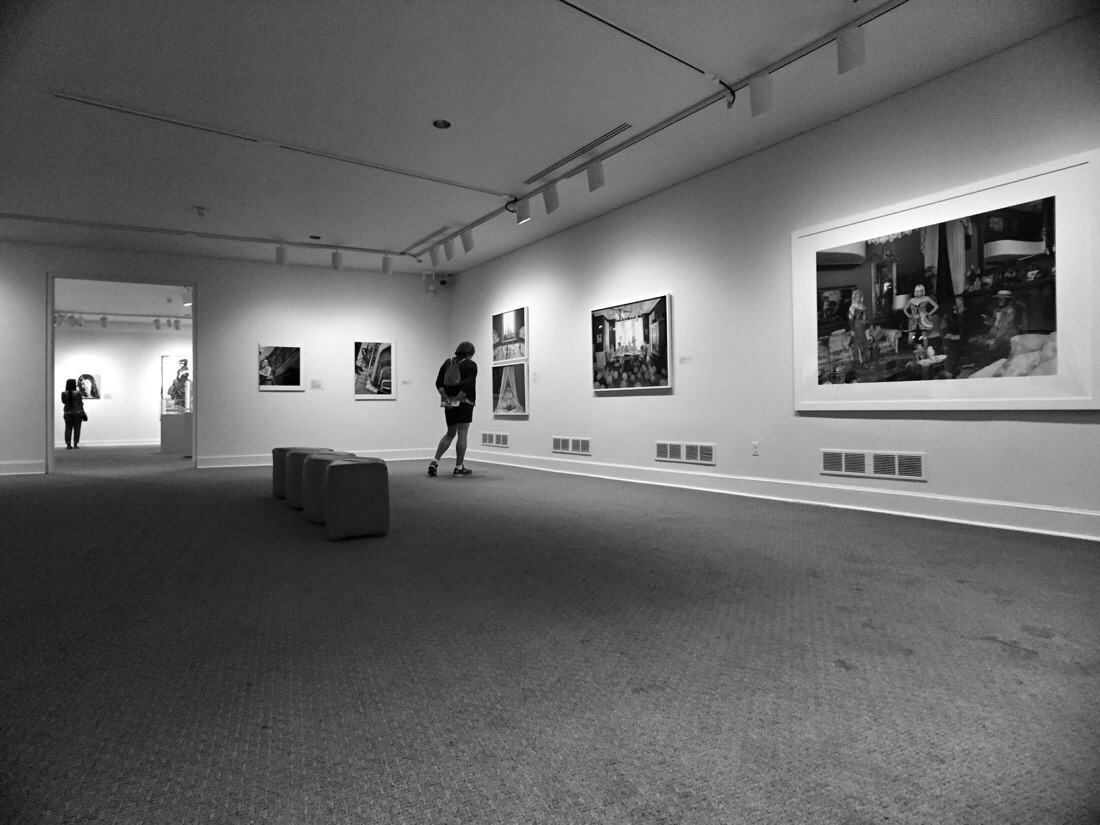 wide angle lens from moment at the art gallery