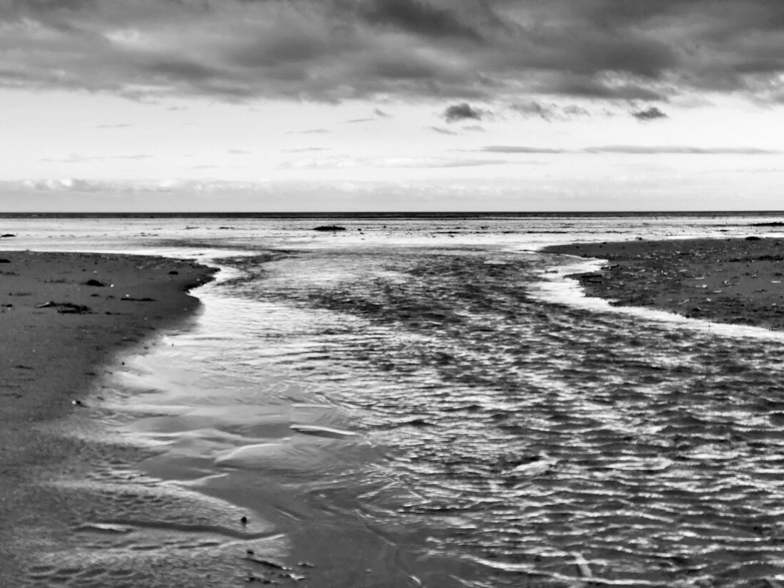 A winter walk along the beach at ainsdale
