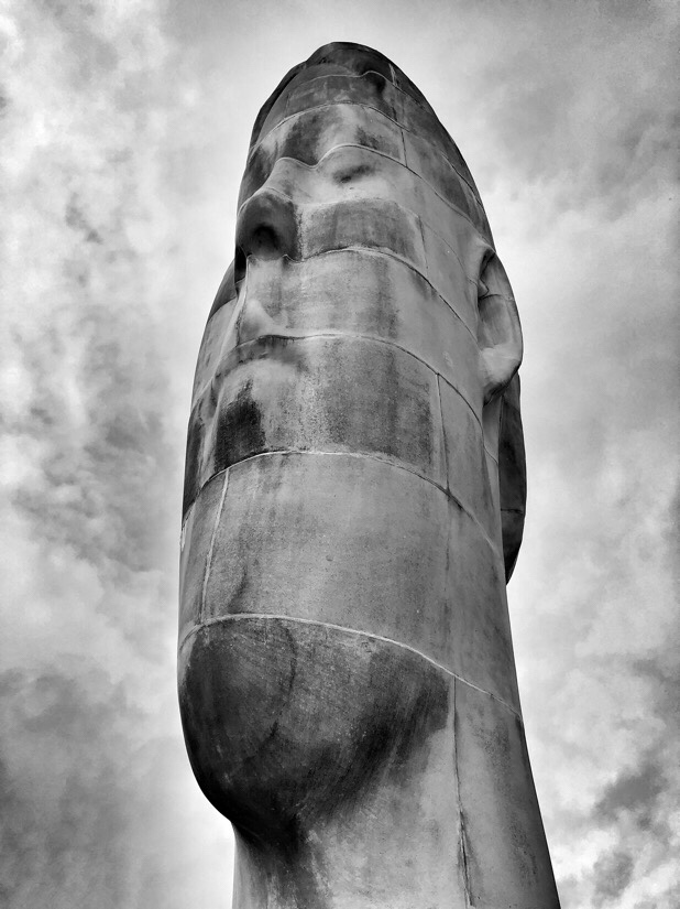 Dream is a sculpture and a piece of public art by Jaume Plensa at Sutton Manor Colliery in St Helens, Merseyside.