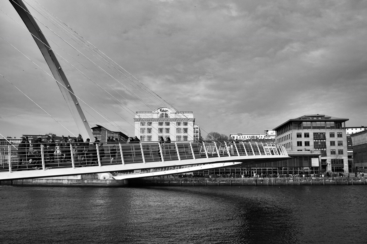 Bridges across the River Tyne in Newcastle upon Tyne, England