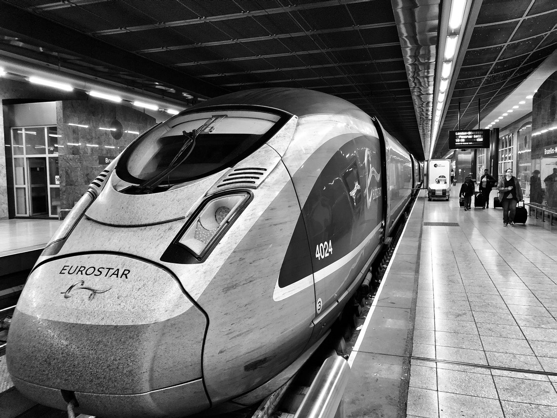 Traveling from Liverpool to Brussels by train via London on Virgin Trains and Eurostar
