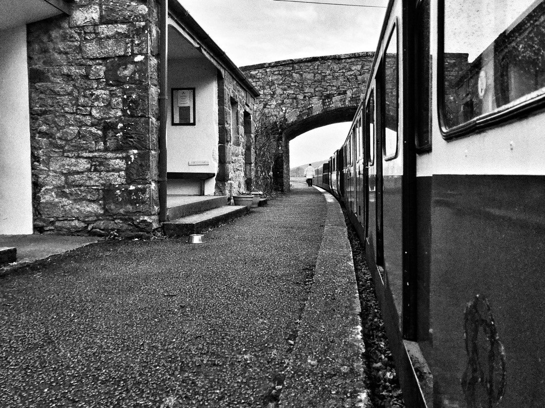 Riding the Ravenglass and Eskdale Steam Railway in Cumbria