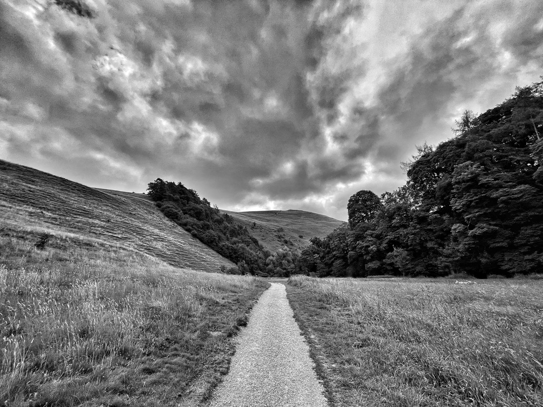 Dovedale National Nature Reserve in the Prak District