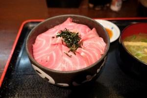 のっけ家 静岡店 〜焼津直送の新鮮「本鮪大とろ頭肉丼」は口の中でとろけます。〜