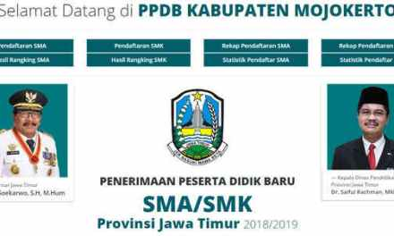 Pengumuman Hasil PPDB SMAN 1 Mojosari Tahun Pelajaran 2018/2019