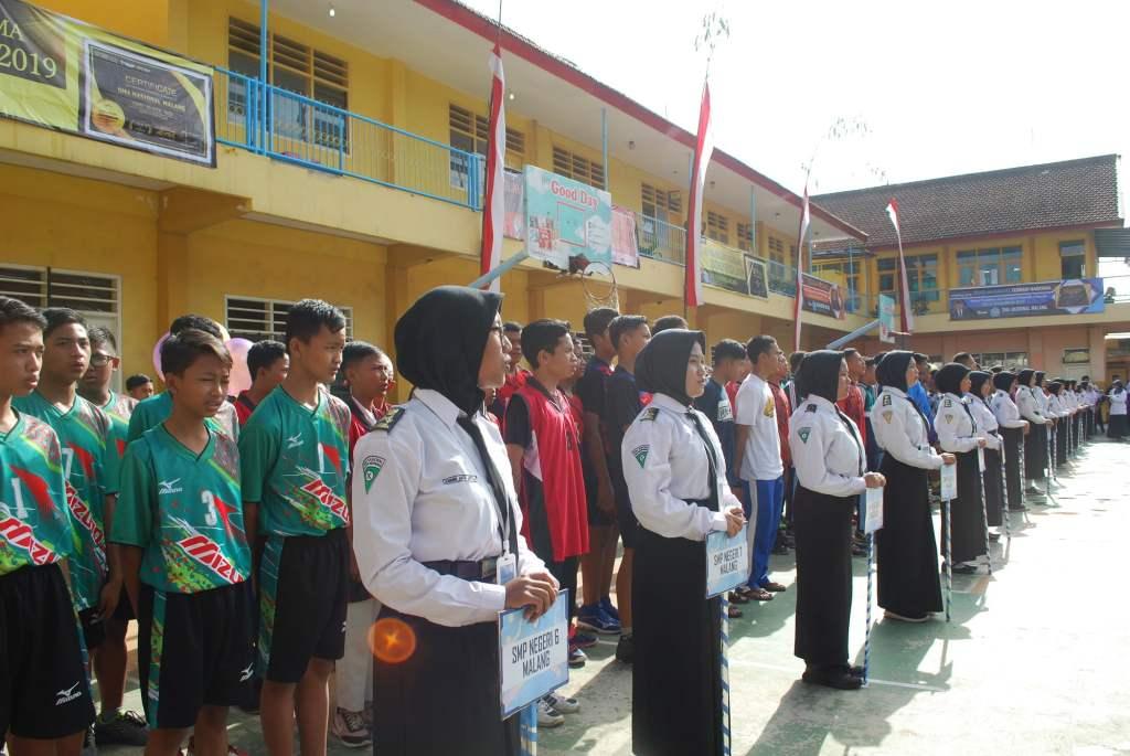 Atlet Voli SMP Malang Raya Junjung Sportivitas dalam SMANAS Cup 2020 10