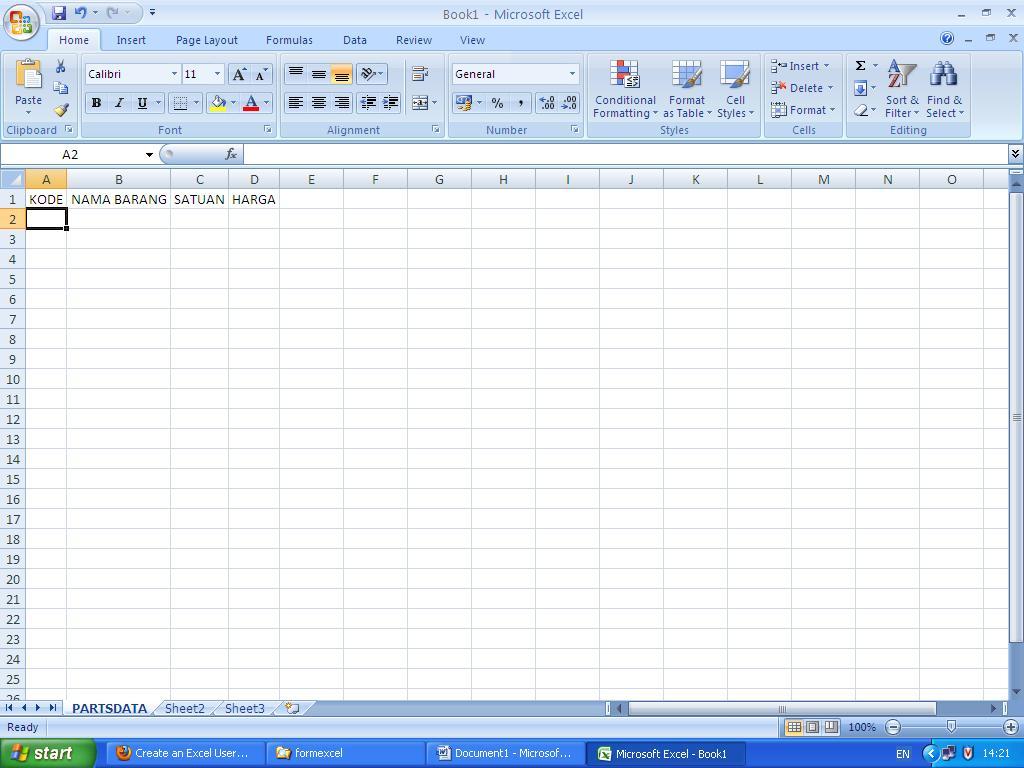 Fungsi Worksheet Pada Microsoft Excel