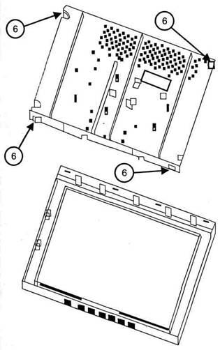 Устройство и ремонт ЖКИ монитора Acer AL708