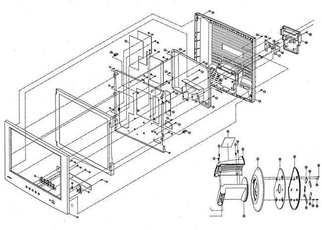 Ремонт ЖКИ монитора Daewoo L510B1 типовые неисправности