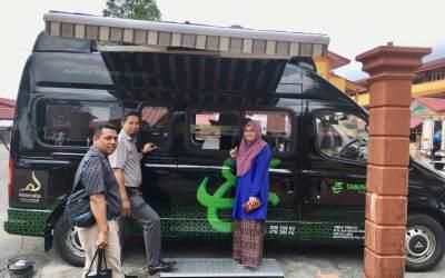 Kunjungan Van Komuniti Tabung Haji ke SMAP Kajang