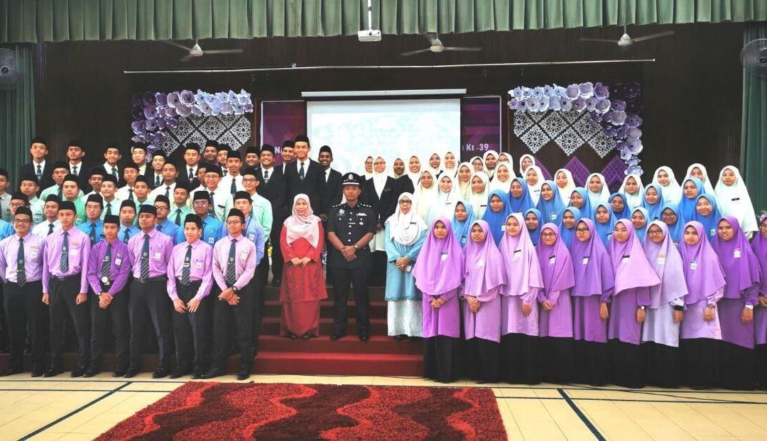 Majlis Watikah Pelantikan Badan Kepemimpinan Murid 2020