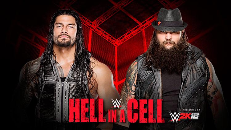 Roman Reigns vs. Bray Wyatt – Hell in a Cell Match