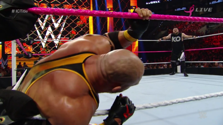 ryback vs kevin owens hell in a cell 2015