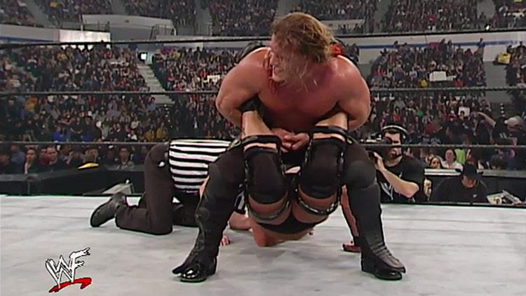 Chris Jericho vs. Stone Cold Steve Austin – WWE Undisputed Championship, Vengeance 2001