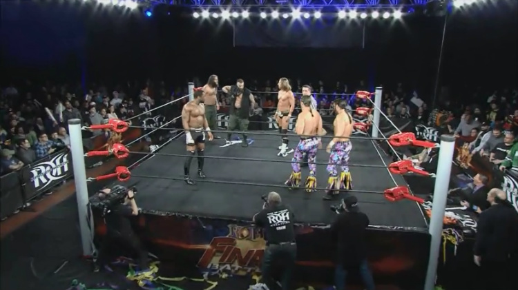 roh final battle young bucks briscoes all night express