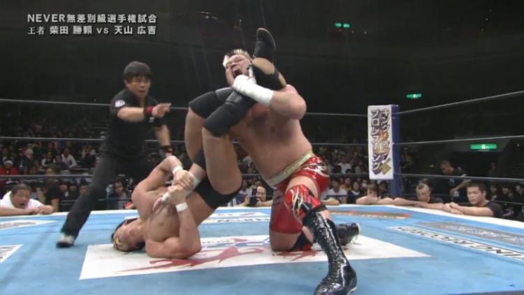 njpw invasion attack shibata vs tenzan