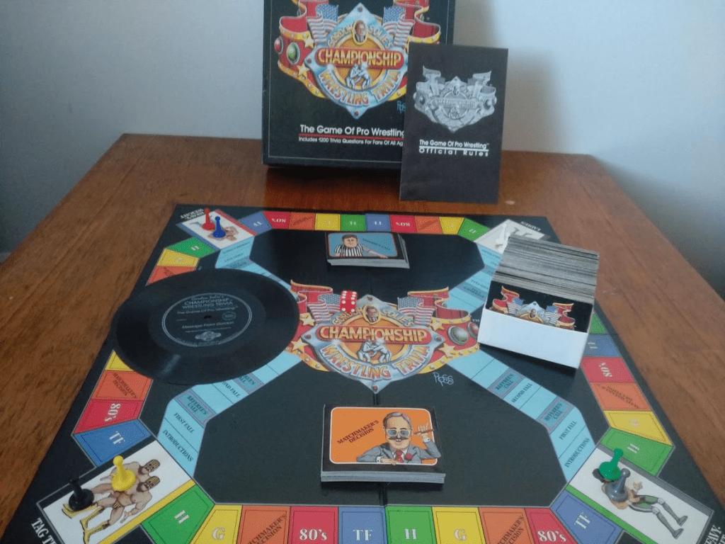 Gordon Solie's Championship Trivia Gamen sisältö
