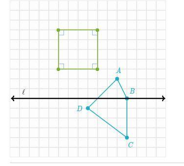 PLEASE ANSWER ASAP!! Plot the image of quadrilateral ABCD