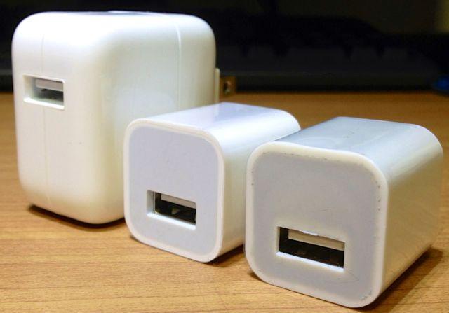 Apple 非純正ACアダプタを回収・特別価格での販売をする「USB 電源アダプタ回収プログラム」を実施