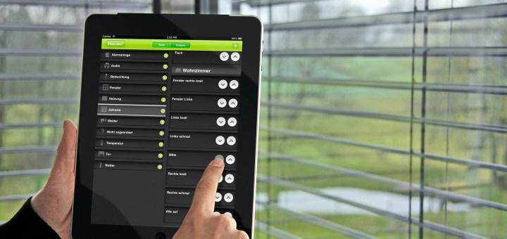 Mit der App für iPhone oder Android kann man die einzelnen Funktionen steuern