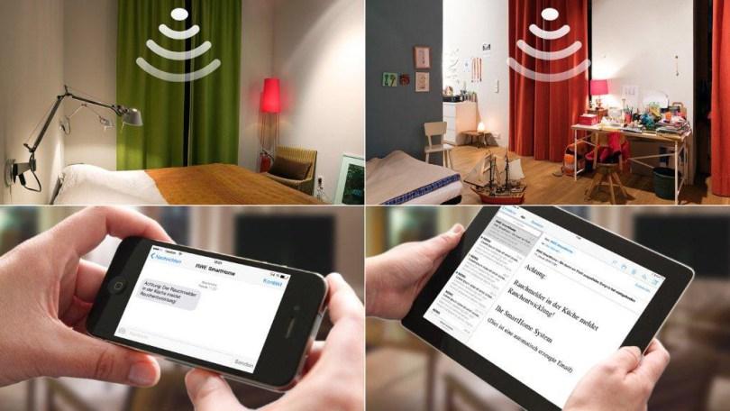 Smart Home Steuern und Bedienen