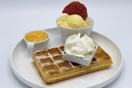 smartijs - wafel met advocaat en ijs