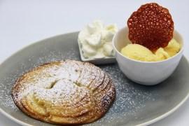smartijs - warme appeltaart met ijs