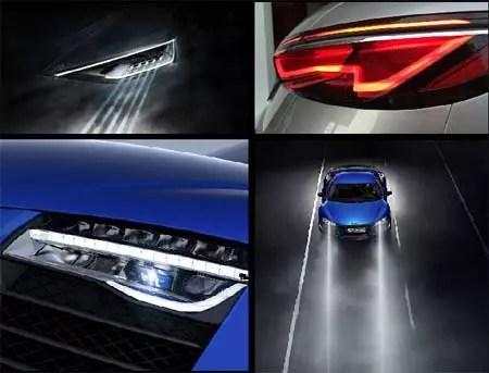 Sistemas de iluminacin y de conectividad automotriz