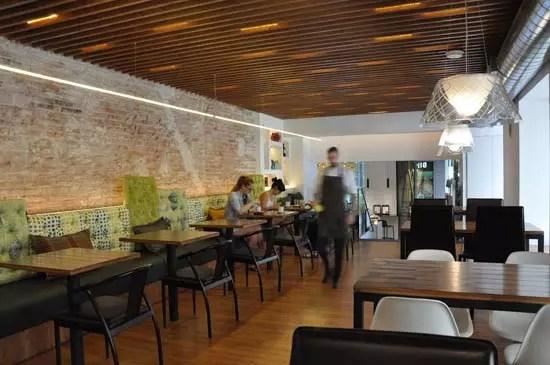 Iluminacin de MCI y cocina saludable en el Restaurante