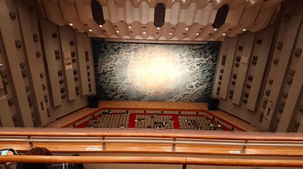 4階席からの見え方の画像
