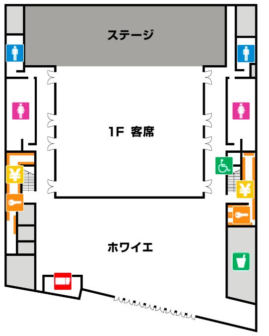 KT Zepp横浜の座席表やキャパは?