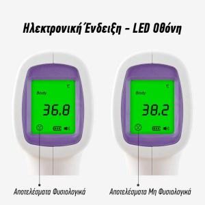 Ψηφιακό Θερμόμετρο Σώματος Με Υπέρυθρες