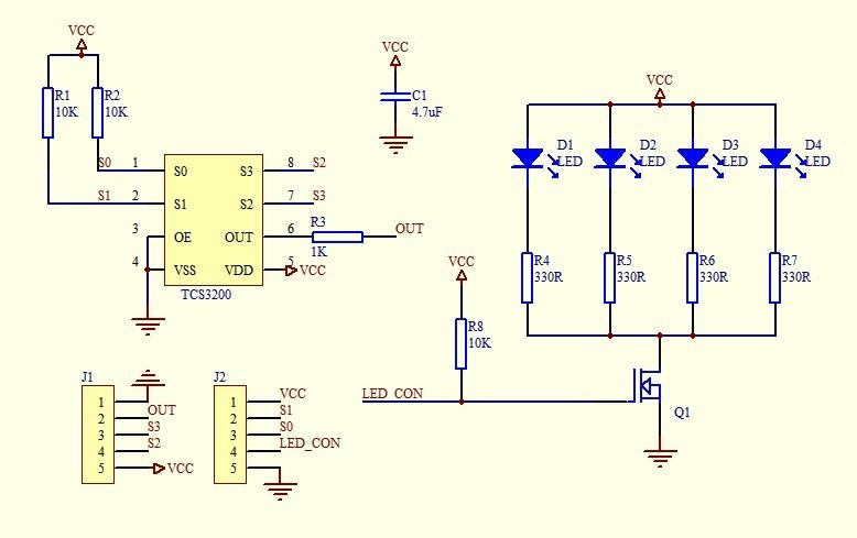 Ir Sensor Circuit Schematic