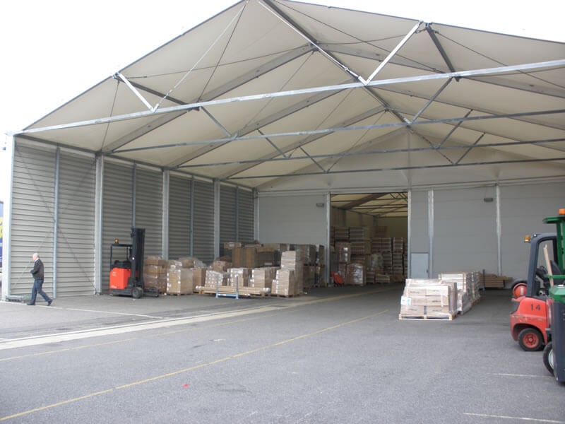 Temporary Warehouses for Logistics Business