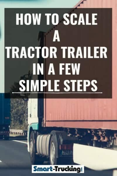How Many Axles Does A Semi Truck Have : axles, truck, Scale, Tractor, Trailer, Simple, Steps