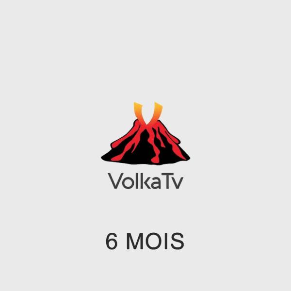 Abonnement IPTV VOLKA Pro2 6 mois