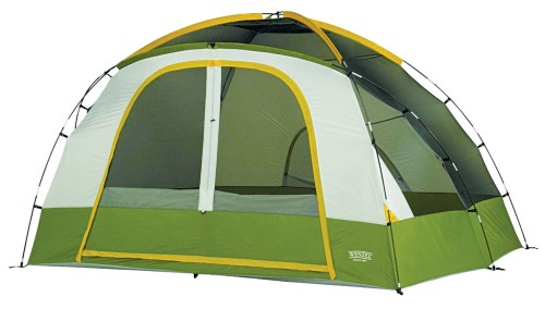 Smart camping tent