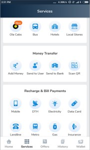 Mobikwik wallet and its various features