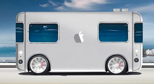 Apple's driverless vehicle (Source: https://inhabitat.com)